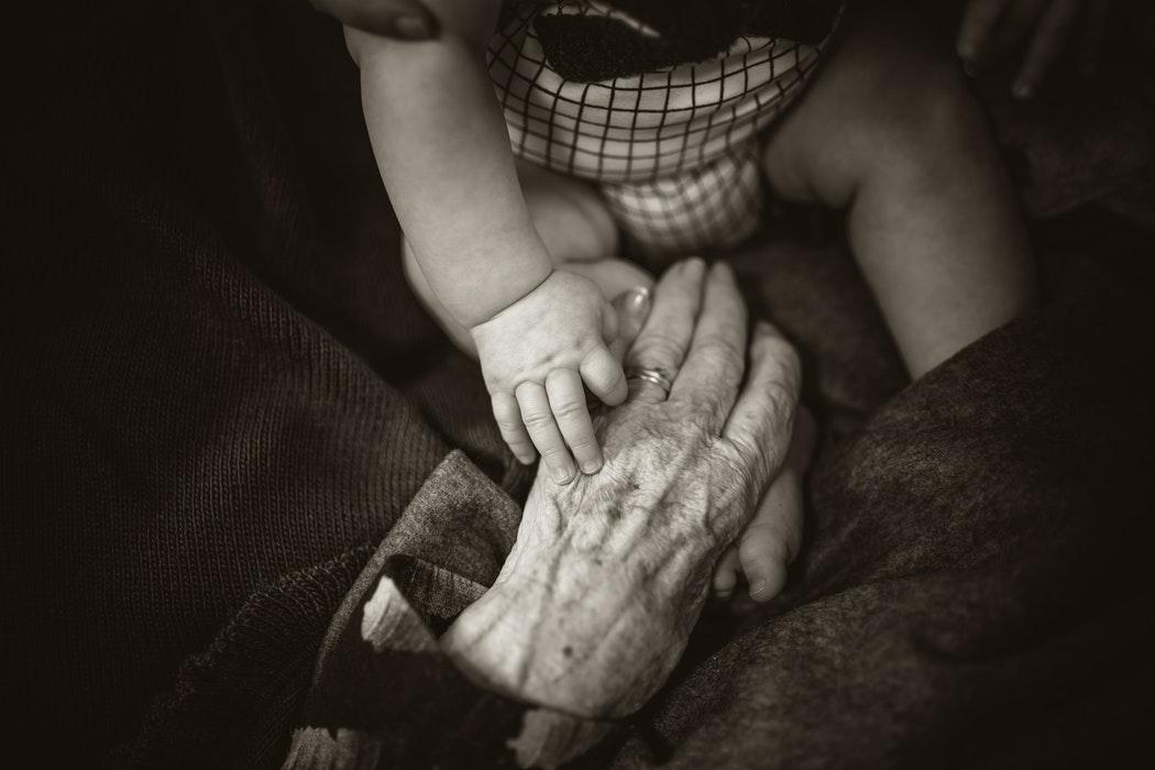 老化による病
